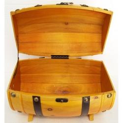 Botte in legno colore chiaro 29x19x18 cm
