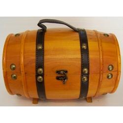 Botte in legno colore chiaro 36x24x21 cm