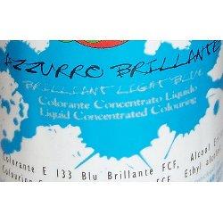 Colorante Azzurro Brillante liquido alimentare da 25 gr.