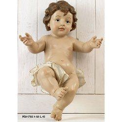 Statua Bambinello in resina cm 60