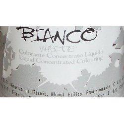 Colorante Bianco liquido alimentare da 25 gr.