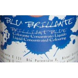 Colorante Blu Brillante liquido alimentare da 25 gr.