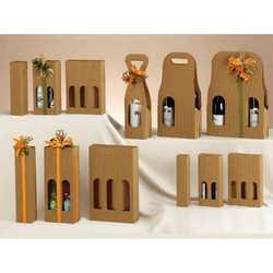 Scatola 1 Bottiglia Petit Onda Mm. 55x55x240 Pz. 10