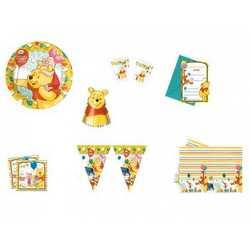 Piatti Piani Cartoncino Winnie Pooh Cm 20 Pz.10