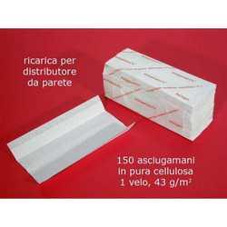 150 Asciugamani Piegati A C Papertowel Cm. 25x33 Pz. 20