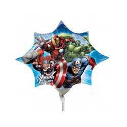 Palloncino Avengers Su Stecco Cm.23