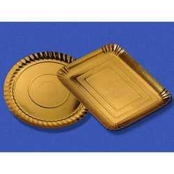 Vassoi Cartone Oro Mm. 222x150x14 Pz.5