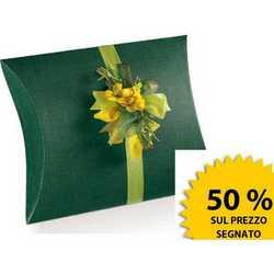 Scatola Busta Seta Verde Mm 360x340x90 Pz.10