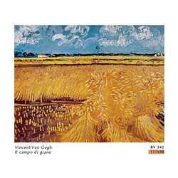 Vincent Van Gogh Le Champ De Ble Cm. 117x98