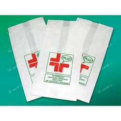 Sacchetto Farmacia Carta Kraft Cm 12+7x24 Kg.10 Pz.2.500 Circa