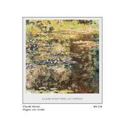 Claude Monet Etang Aux Nipheas Cm. 82x88
