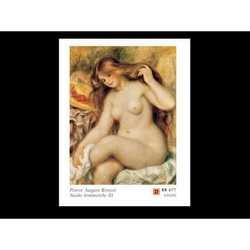 Pierre August Renoir Nudo Femminile Iii Cm.80x60