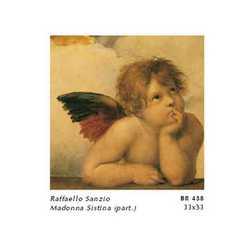 Raffaello Sanzio Angeli Part. I Cm. 33x33