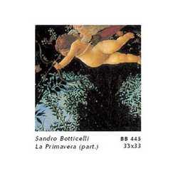 Sandro Botticelli La Primavera Cm. 33xx33