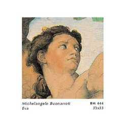 Michelangelo Buonarroti Eva Cm. 33x33