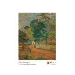 Paul Guaguin Cavallo Sul Cammino Cm.60x80