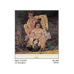 Egon Schiele La Famiglia Cm. 50x50