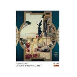 Gustav Klimt Teatro Taormina Cm. 87x99