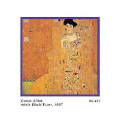 Gustav Klimt A.Bloch, Bauer I Cm. 33x33
