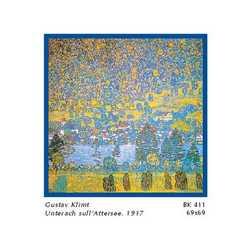 Gustav Klimt Unterach Attersee Cm. 69x69