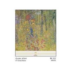 Gustav Klimt Il Crocifisso Cm. 50x50