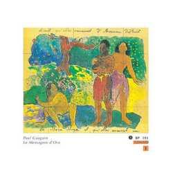 Paul Guaguin Le Messagere D'oro Cm.120x100