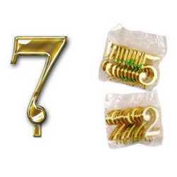 Numero 7 Per Torta Cm. 3x4 Pz. 10