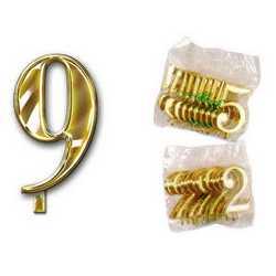 Numero 9 Per Torta Cm. 3x4 Pz. 10