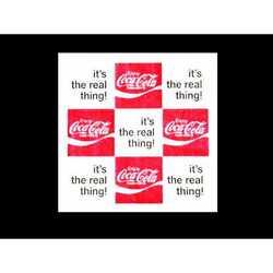 Tovaglioli Coca-Cola 3 Veli Cm.33x33