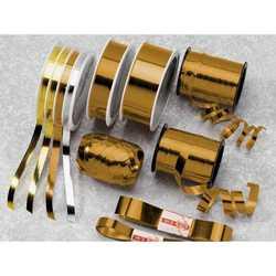 Nastro Rocchetto Metal Oro Mm 10x250 Mt