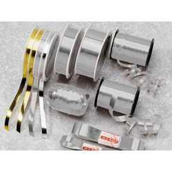 Nastro Rotolo Metal Argento Mm. 31x50 Mt.