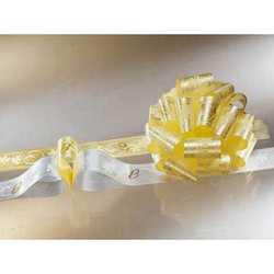 Fiocco Pronto Anelli Oro Su Fondo Oro Chiaro Diam. Cm. 19 Pz. 5