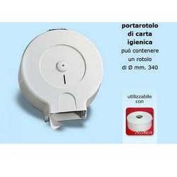 Porta Rotolone Igienica Grande Mm. 370x130x370
