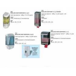 Distributore Sapone Liquido Lt. 1 Mm. 128x100x247