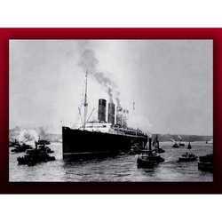 Fotografia Titanic N.Y. Cm 60x80