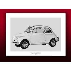 Fotografia Fiat 500 Cm 50x70