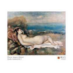 Pierre August Renoir Nudo Femminile I Cm.80x60