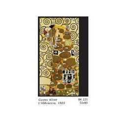 Gustav Klimt L'abbraccio Cm. 55x90