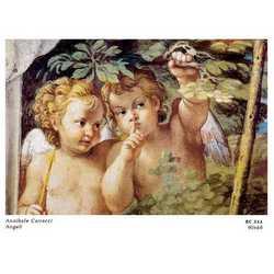Annibale Carracci Angeli Cm. 90x60