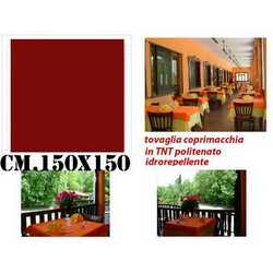 Tovaglie Carta Tnt Politenate Bordeaux Cm. 150x150 Pz. 50