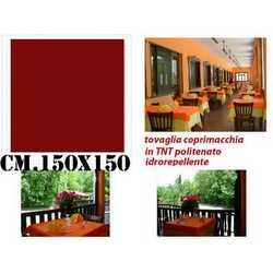 Tovaglie Carta Tnt Politenate Bordeaux Cm. 150x150 Pz. 50