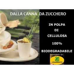 Vassoietto In Polpa Di Cellulosa Cm.12,8x6,5 Pz.100