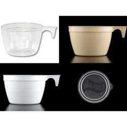 Tazze Caffe' Trasparente Pz.50