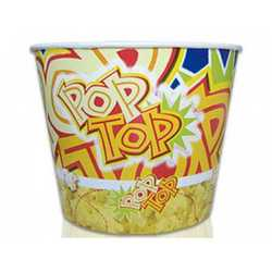 Contenitore Pop Corn Ml 1390 Pz.50 D.120 H.178 B.88