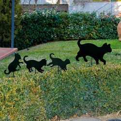 Decorazione Famiglia di gatti
