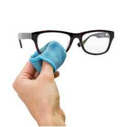 Panno in microfibra per pulizia occhiali
