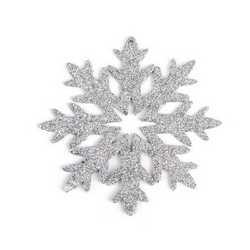 Set 12 fiocchi di neve silver
