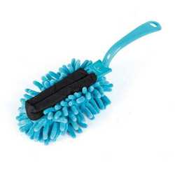 Set 2 spazzole con manico pieghevole