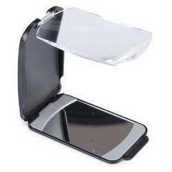 Specchietto con lente multifunzione per cellulare