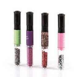 Set 4 penne per decorazione unghie